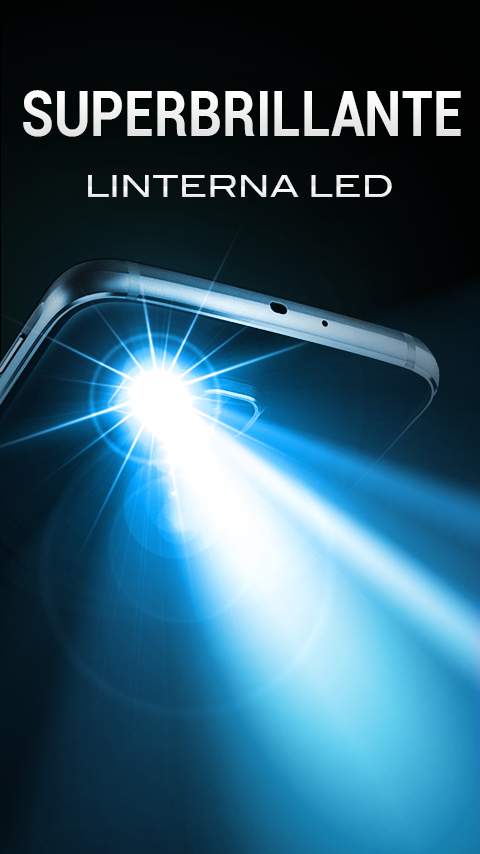 Linterna led s per brillante aplicaciones de android en for Linterna de led potente
