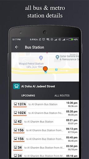 Qatar Transit - Bus, Metro, Times, Maps, Planner 4.8 screenshots 3