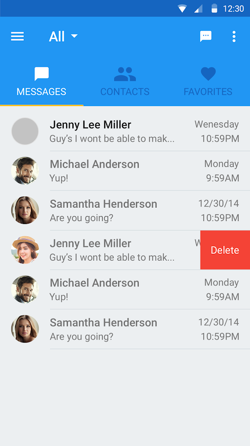 codetel™ Messenger- screenshot