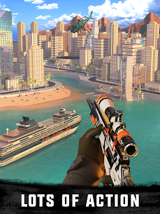 Sniper 3D Gun Shooter MOD (Unlimited Gold/Gems) 4
