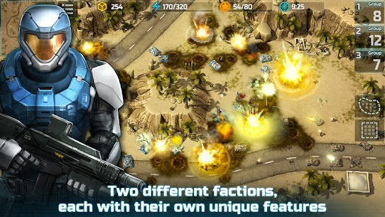 Art of War 3: PvP RTS modern warfare strategy game Apk Download For Android and Iphone 6