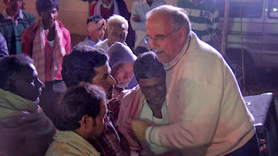 Photo: Young and old were coming to Jesus Christ for salvation. Note the age and grey hair of some of these men.