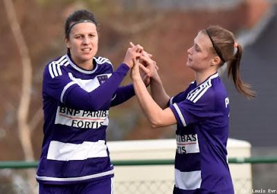Laura De Neve en Anaëlle Wiard blikken vooruit op Anderlecht - Heist