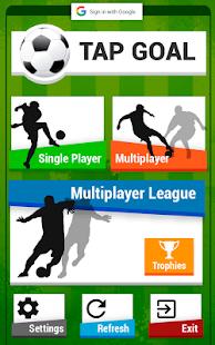 Tap Goal - Multiplayer Soccer World Game - náhled