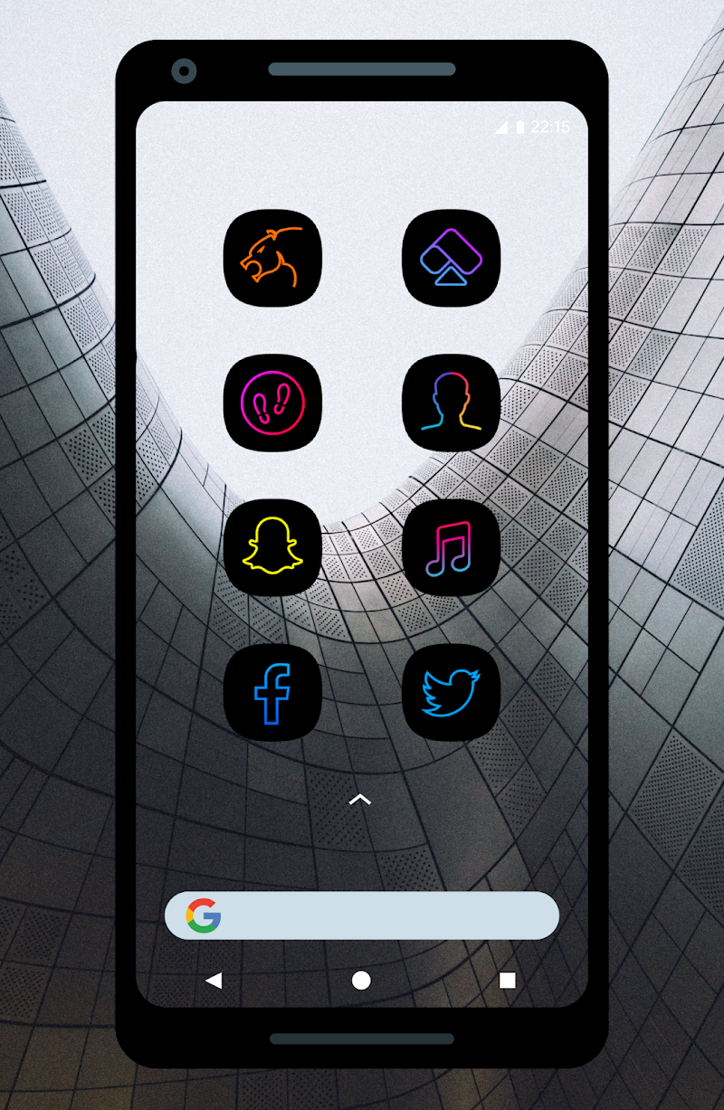 UX Led - Icon Pack Screenshot 5