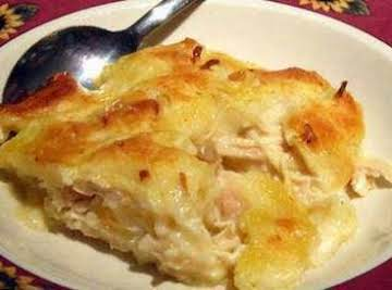 Busy Moms Chicken and Dumpling Casserole