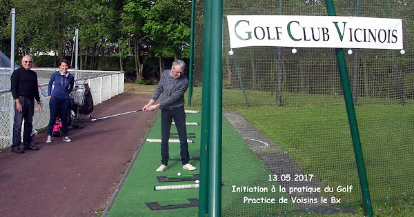 13 mai 2017 - Initiation à  la Pratique du Golf
