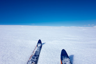 Photo: Skiing in Dovre Mountains.