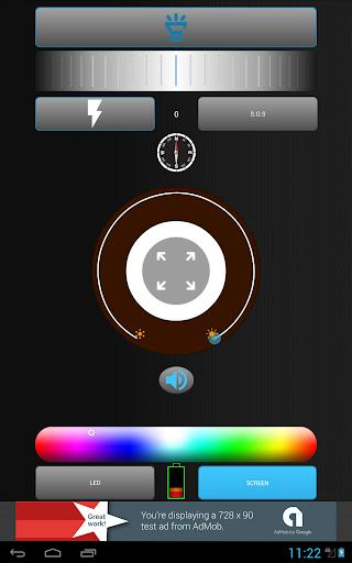 FlashLight Pocket / Torch 2.1.8 screenshots 5