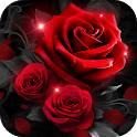 True Love Red Rose Theme icon