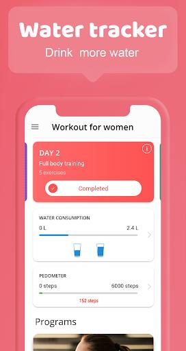 Female fitness screenshot 6