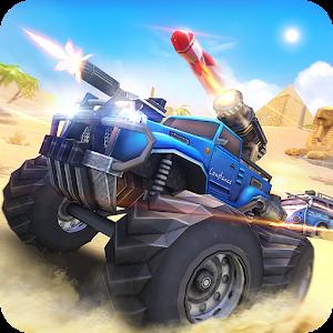 Overload: Multiplayer Battle Car Shooting Game Online PC (Windows / MAC)