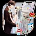 Romantic Wedding Sweet Couple Theme icon