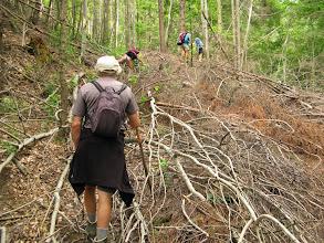 Photo: De paden waren soms ver te zoeken...