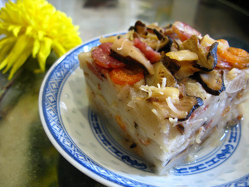 chinese new year radish cake recipe