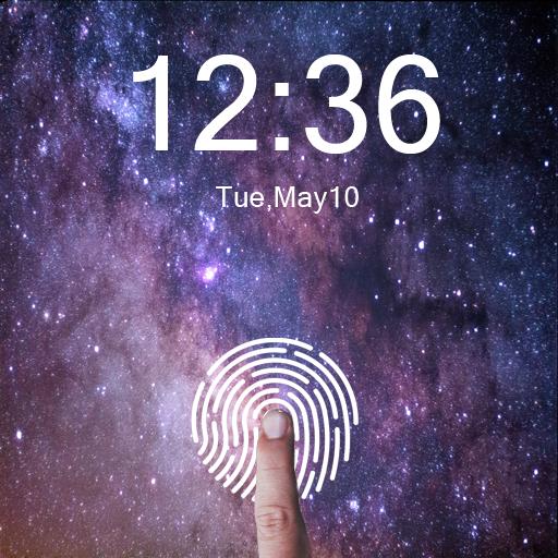 Fingerprint Lock Screen Prank Pro
