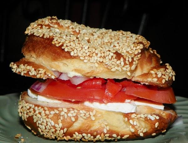 Bagels With Smoked Salmon (ww) Recipe