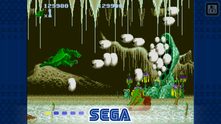 Altered Beast- screenshot