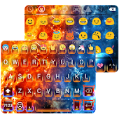 Ice & Fire Emoji Keyboard
