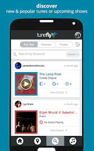 Tunefly - Discover Local Music - náhled