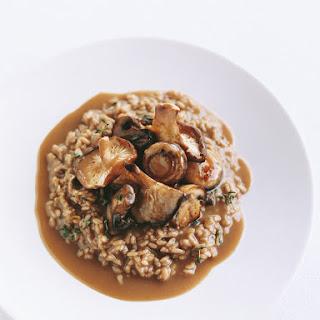 Mixed Mushroom Risotto.