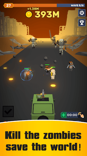 Idle Convoy VS Zombies Incremental - screenshot