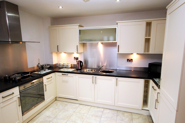 Fully equipped kitchen at Manor Chare