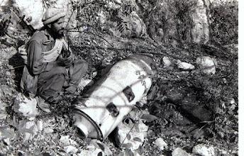 Photo: One of many Soviet dud bombs