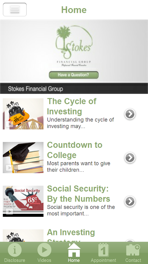 Stokes Financial Group- screenshot