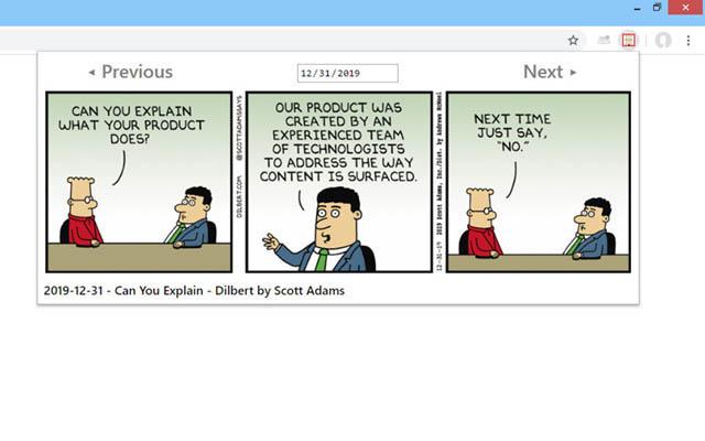 Dilbert Comic Strips