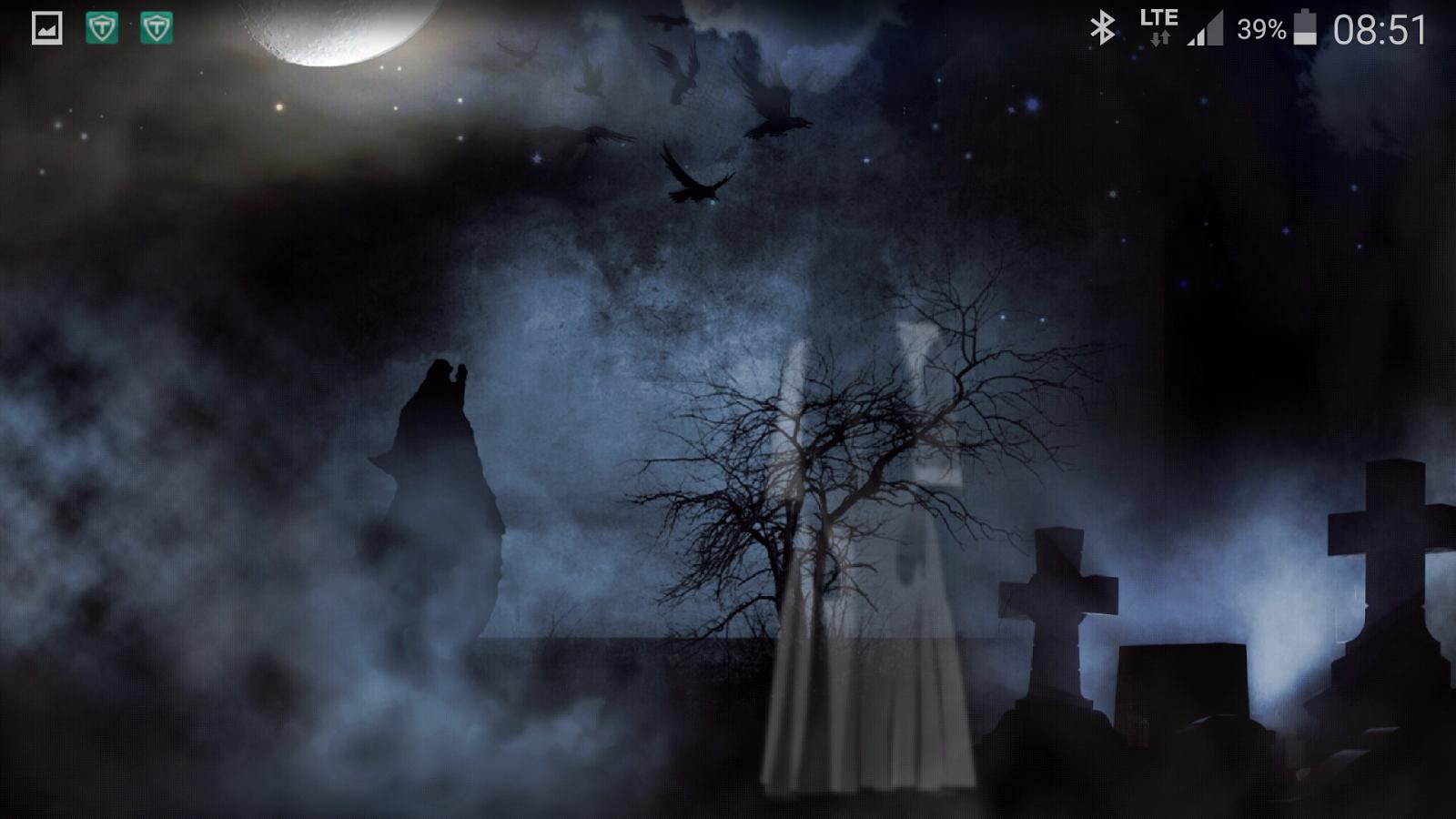live halloween wallpaper | free | download