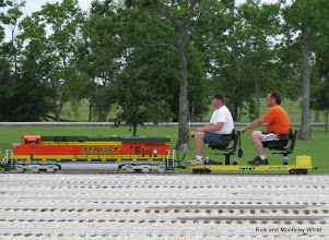 Photo: BNSF 7687, Scott Weatherford, and Thomas Williams.  HALS-SLWS 2009-0522