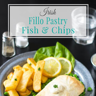 Fillo Pastry Fish & Chips.