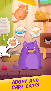Cat Cafe: Matching Kitten Game Screenshot