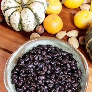 Pressure Cooker Black Beans.