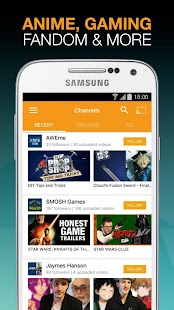Viewster – Anime & Fandom TV Capture d'écran