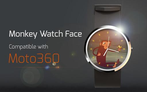 Monkey Watch Face
