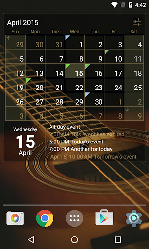 Download Calendar Widget (key) for free | Free Downloads