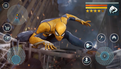 Spider Rope Gangster Hero Vegas - Rope Hero Game apkmr screenshots 5