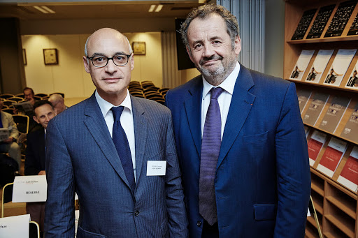 Club Les Echos Débats avec Guillaume SARKOZY, Délégué Général de Malakoff Médéric