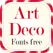 Art Deco Fonts Style Free