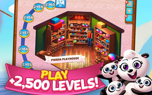 Panda Pop - Bubble Shooter Game. Blast, Shoot Free  mod screenshots 4