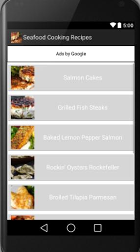 無料生活Appのシーフードと魚 記事Game