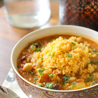 Moroccan-Spiced Vegetable Soup.