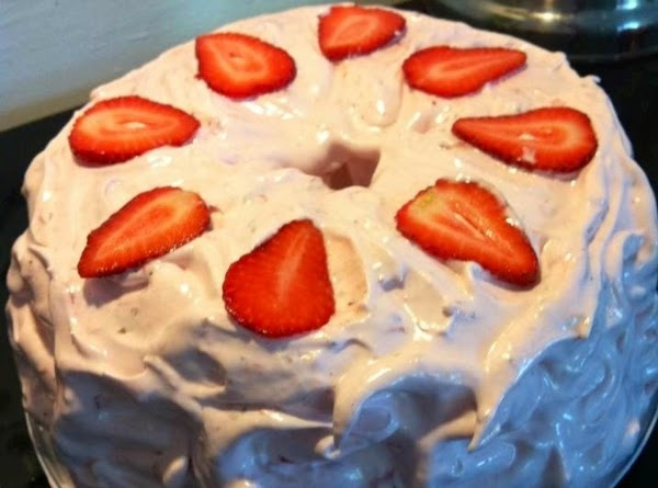 Easy Strawberry Icing For Angelfood Cake Recipe