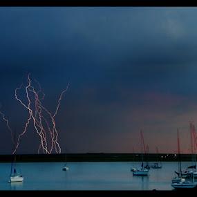 Power 2 by Gareth Carter - Landscapes Weather ( clouds, untamed odyssey, lightning., weather, gareth carter, light )