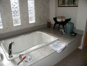 Photo: Soaking Tub, before re-model