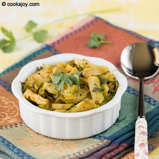 Simple Brussels Sprouts Curry