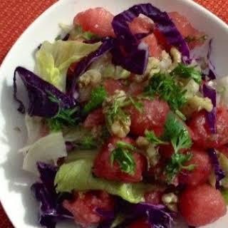 Water Melon & Mint Salad.