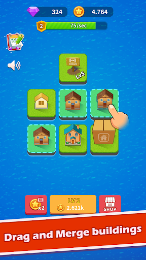 Merge City - idle game ss1